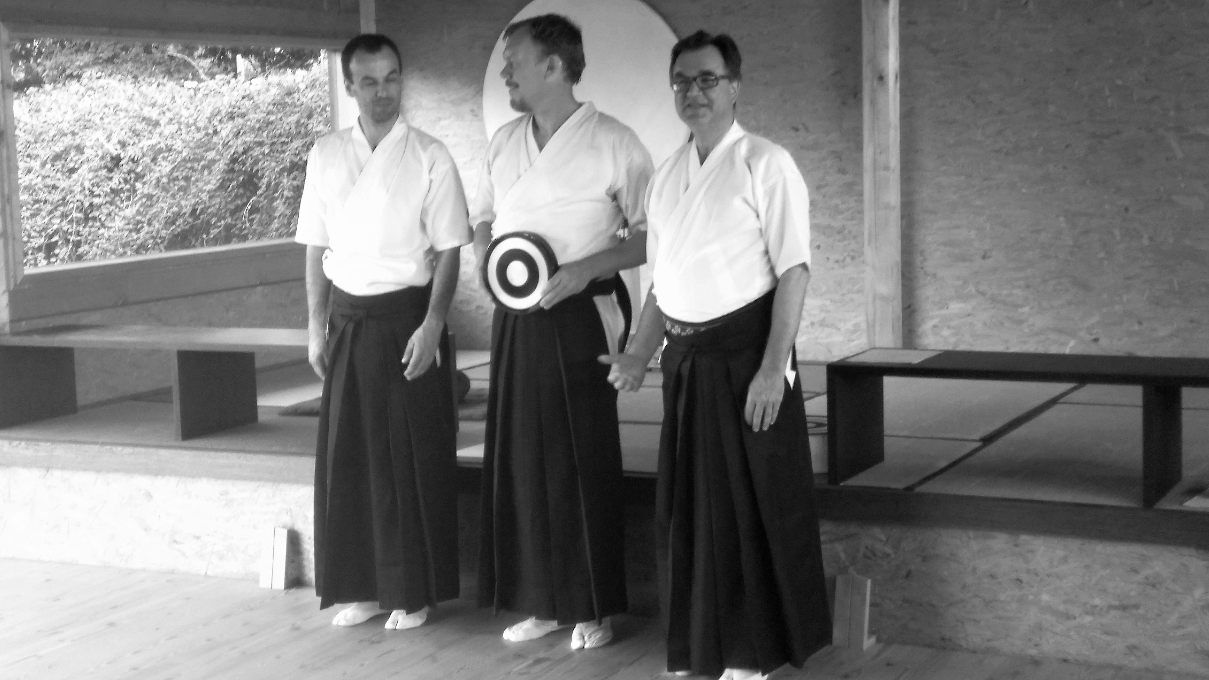von links nach rechts: Branko, Alexander, Diethard